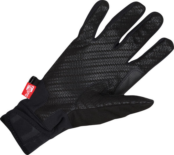 Castelli Tempesta Gloves Color: Black/Reflective Silver/Turbulence
