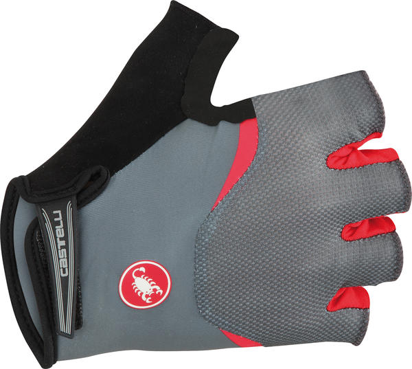 Castelli Arenberg Gel Gloves Color: Turbulence/Red