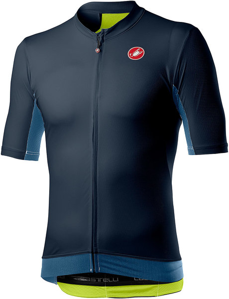 Castelli Vantaggio Jersey Color: Dark Steel Blue/Light Steel Blue