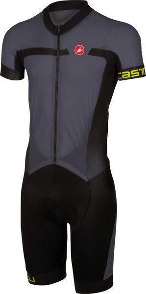 Castelli Velocissimo Sanremo Suit Color: Anthracite/Black