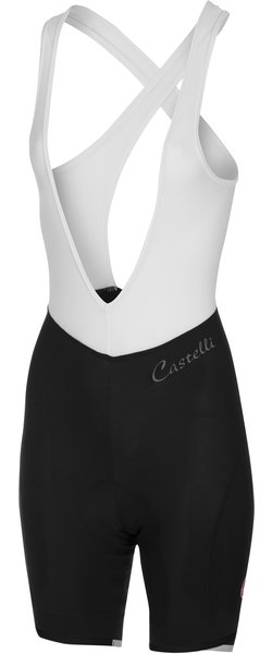 Castelli Vista Bibshort Color: Black