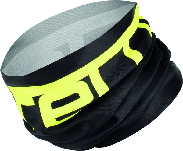 Castelli Viva 2 Thermo Head Thingy Color: Black/Yellow Fluo