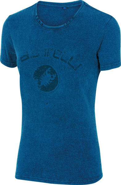 Castelli W T-Shirt Color: Melange Blue