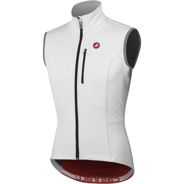 Castelli Isterico Vest Color: White/Red