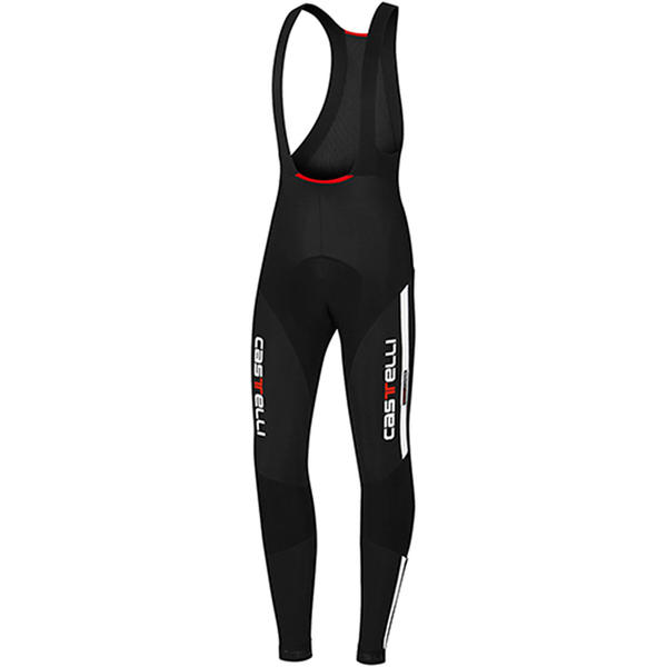 Castelli Sorpasso Bib Tights Color: Black/White