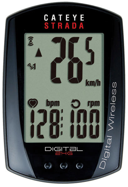 CatEye Strada Digital Triple Wireless w/cadence, heart rate