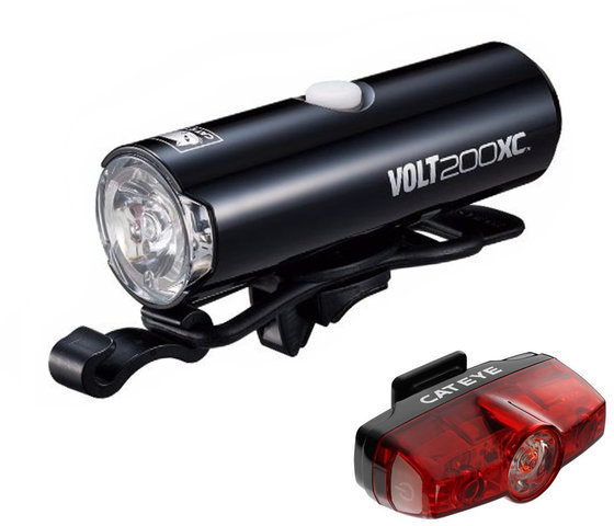 CatEye Volt 200XC and Rapid Mini Light Set