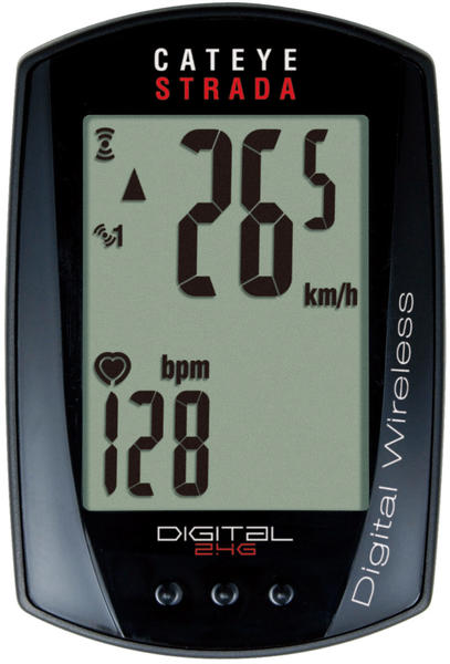 CatEye Strada Digital Wireless w/heart rate
