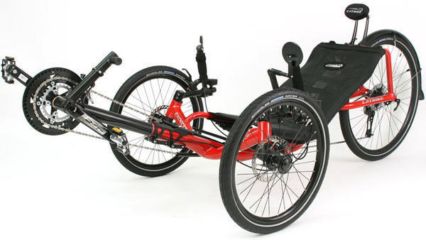 Catrike Expedition Recumbent Trike - Bloomfield Bicycle Shop