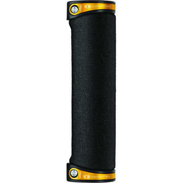 Crank Brothers Cobalt Grips Color: Gold