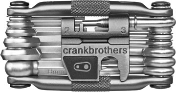 Crank Brothers m19 Color: Black/Silver