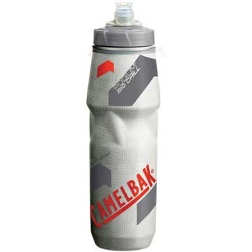 CamelBak Podium Big Chill Bottle Color: Clear/Racing Red