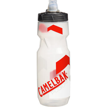 CamelBak Podium Bottle (24 ounce) Color: Clear/Racing Red