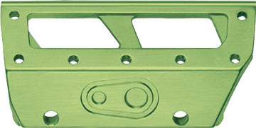 Crank Brothers 5050 Plate Kit Color: Green