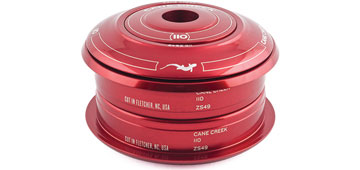 Cane Creek 110 Series ZeroStack Conversion Headset Color: Red