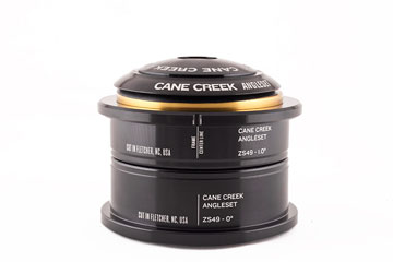 Cane Creek AngleSet ZeroStack Headset Kit (1 1/8-Inch Steerer)