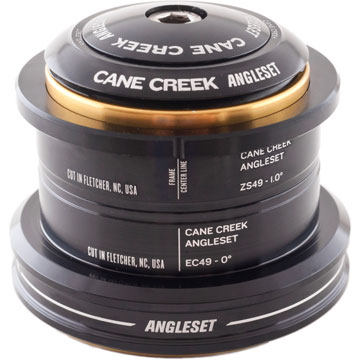 Cane Creek AngleSet ZeroStack/External Cup Headset Conversion