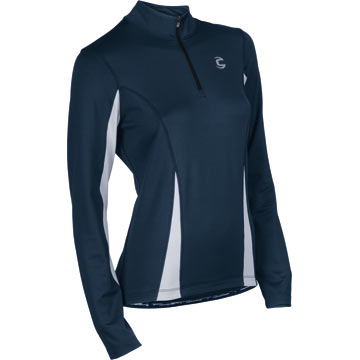 Cannondale Women's Midweight Jersey Color: Eclipse Blue