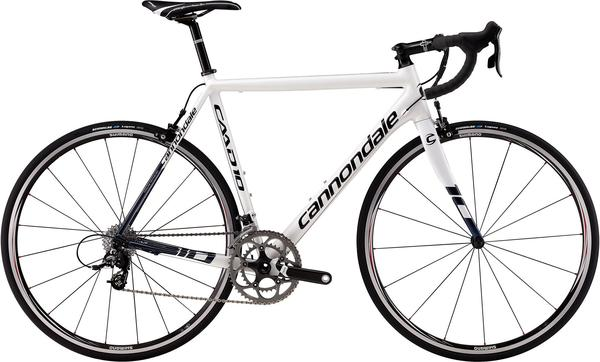 Cannondale CAAD10 4 Color: Magnesium White/Indigo Blue