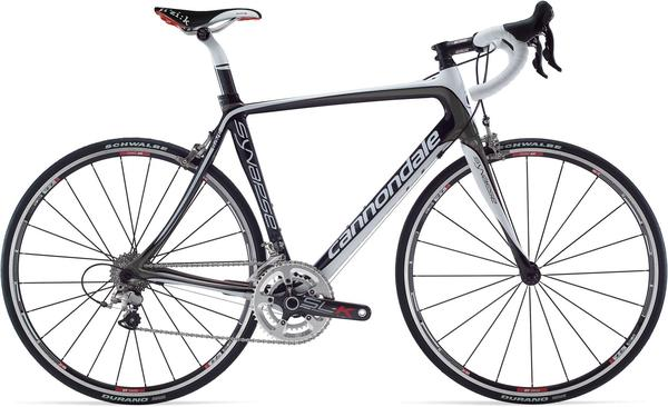 Cannondale Synapse Carbon 3 Compact Color: Charcoal Gray/Magnesium White