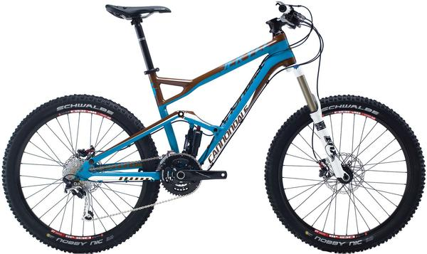 Cannondale Jekyll 3 Color: Ultra Blue/Single Malt Brown