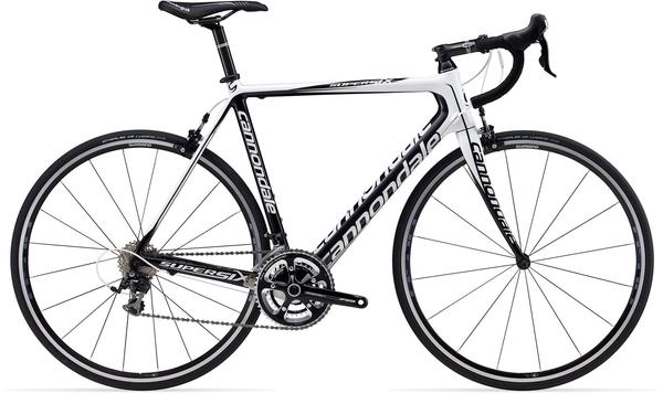 Cannondale SuperSix 5 (Compact) Color: Magnesium White/Jet Black