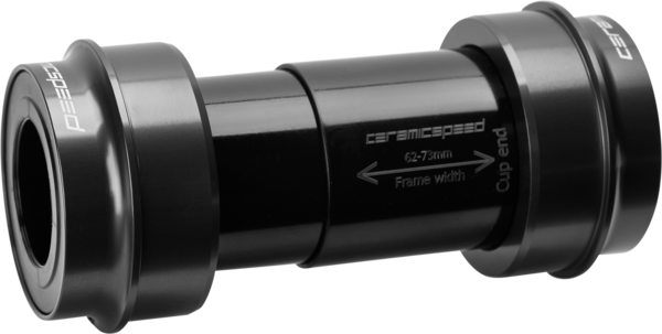 CeramicSpeed PF30 Bottom Bracket for Shimano Road Color: Black