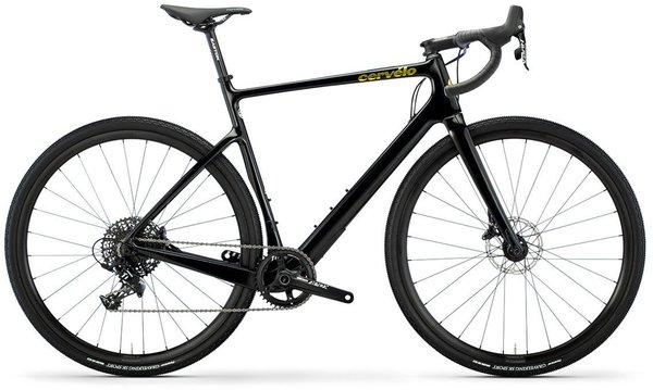 Cervelo Aspero Apex 1 Color: Black/Gold