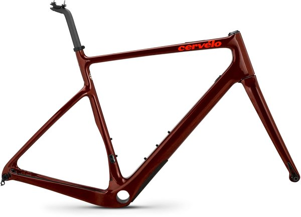 Cervelo Aspero Frameset Color: Burgundy/Dark Orange