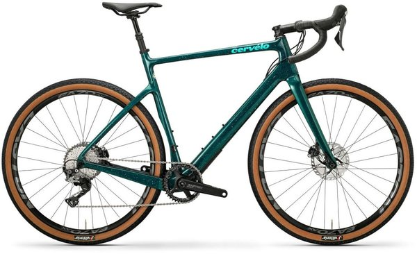 Cervelo Aspero GRX 1 Color: Dark Teal/Light Teal