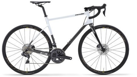 Cervelo C3 Disc Ultegra Di2 8070 Color: White/Grey/Black