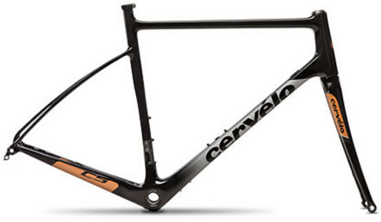 Cervelo C5 Disc Frameset Color: Black