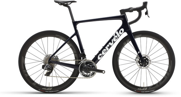 Cervelo Caledonia-5 Red eTap AXS Color: Blue Carbon