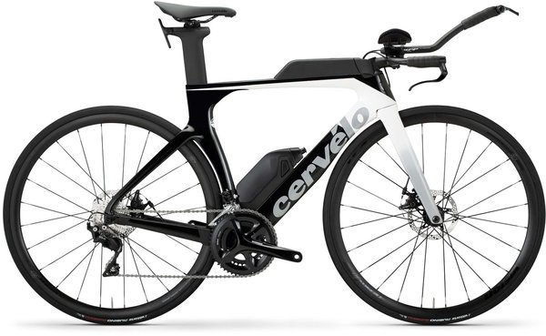 Cervelo P-Series Disc 105 Color: White/Light Grey