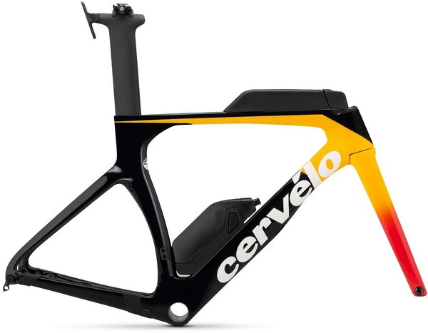 Cervelo P-Series Disc Frameset Color: Light Orange/Coral