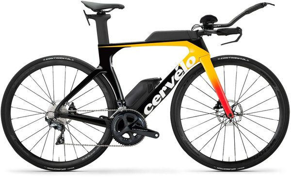 Cervelo P-Series Disc Ultegra Color: Light Orange/Coral