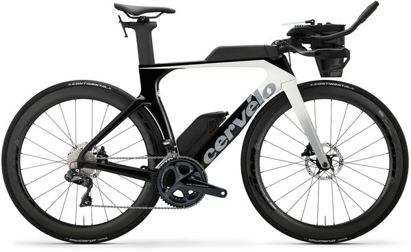 Cervelo P-Series Disc Ultegra Di2 Color: White/Light Grey