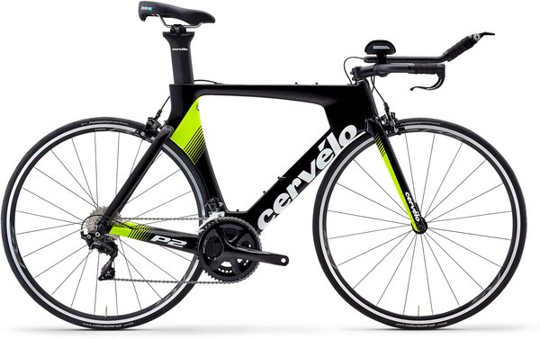 Cervelo P2 105 7000 Color: Black/Fluoro/White