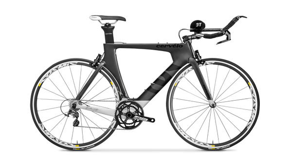 Cervelo P3 (Ultegra, Hydraulic-Rim) Color: Gray/White