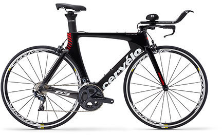 Cervelo P3 Ultegra 8000 Color: Black/Grey/Red