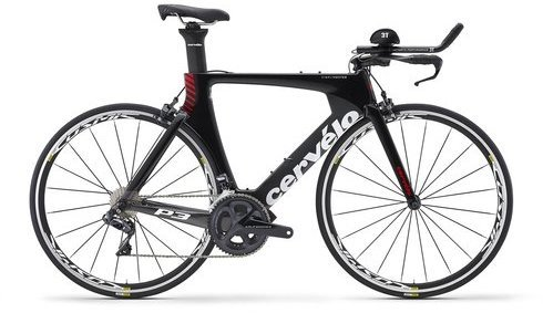 Cervelo P3 Ultegra Di2 8060 Color: Black/Grey/Red