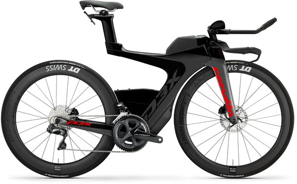 Cervelo P3X Disc Ultegra Di2 Color: Graphite/Black/Red