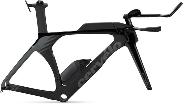 Cervelo P5 Disc Frameset Color: Black/Black/Graphite