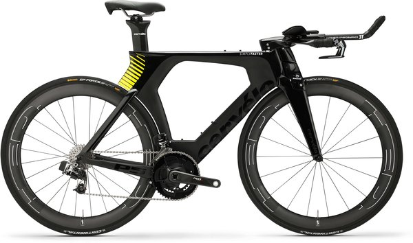 Cervelo P5 eTap Color: Black/Fluoro