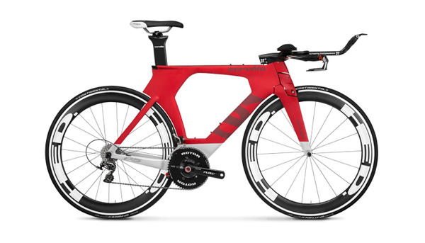 Cervelo P5 Six (Dura-Ace) Color: Red/White