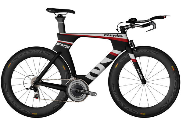 Cervelo P5 Three (Red)