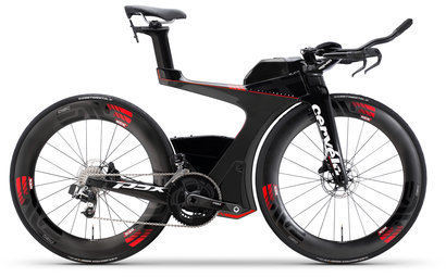 Cervelo P5X Disc SRAM RED eTap Color: Black/Red