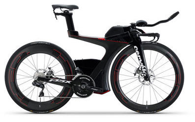 Cervelo P5X Disc Ultegra Di2 8060 Color: Black/Red