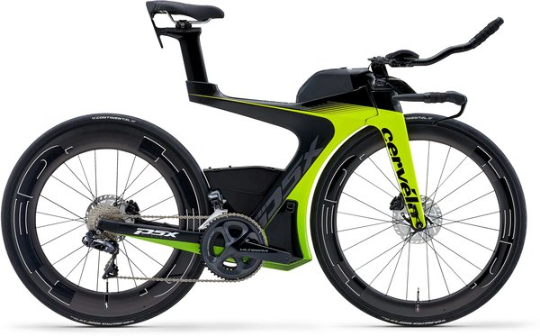 Cervelo P5X Ultegra Di2 Color: Fluoro/Green/Black