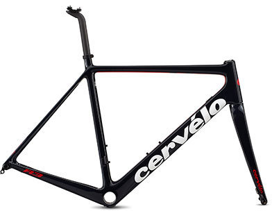 Cervelo R3 Disc Frameset Color: Navy/White